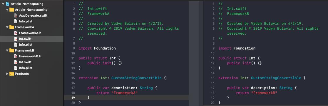 The Power of Namespacing in Swift